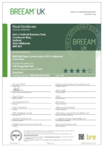 BREEAM EXCELLENT - Unit 2 Solihull Business Park