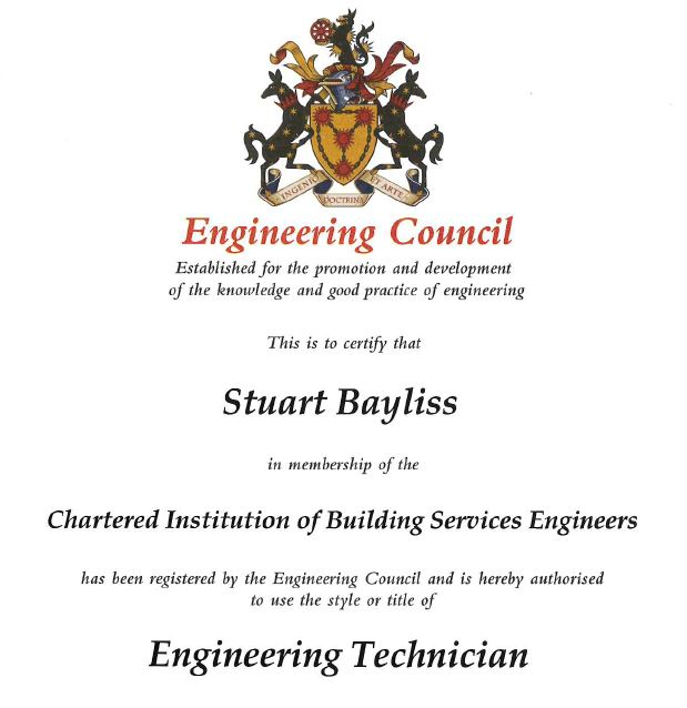 Stuart Bayliss EngTech