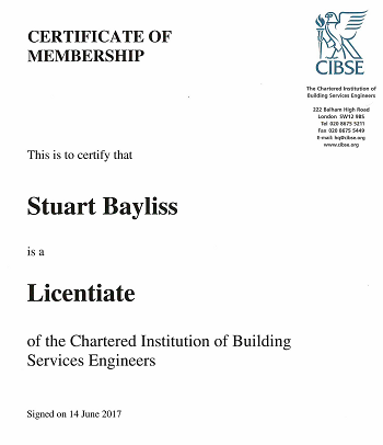 Stuart Bayliss LCIBSE