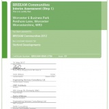 BREEAM Communities 2012