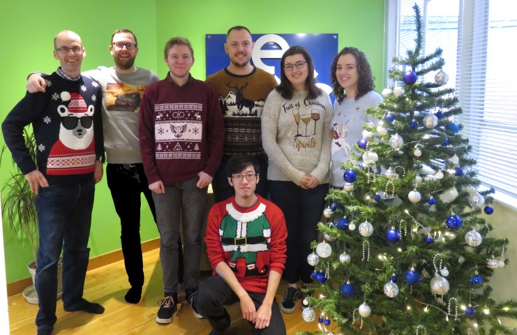 ESC team on Jolly Jumper Day 2018